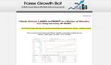Review forex growth bot